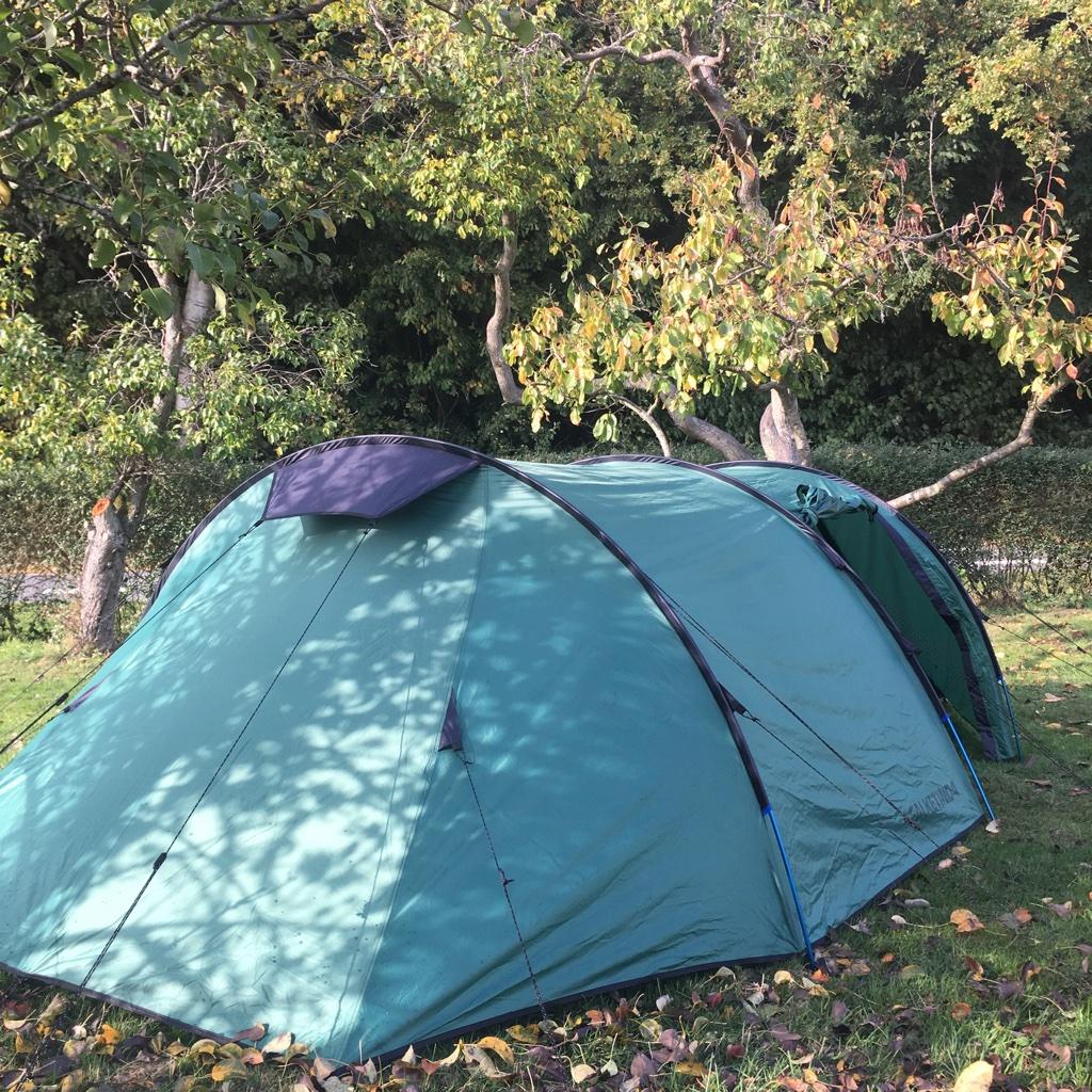 telt på Nordlangeland