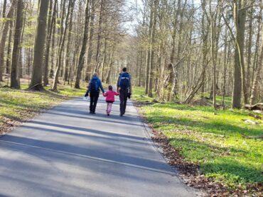 vandretur for familier i forår