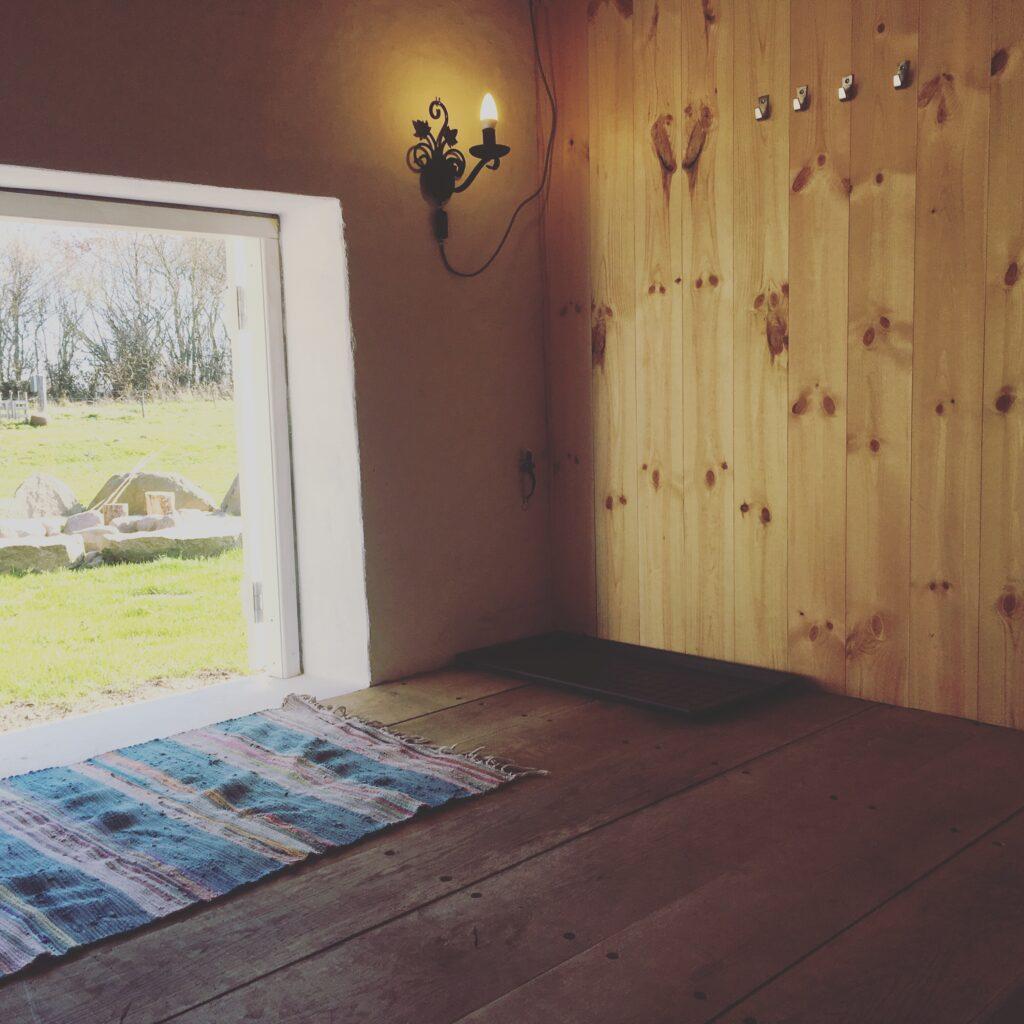 weekendtur i Shelter på Hønsebjerggård