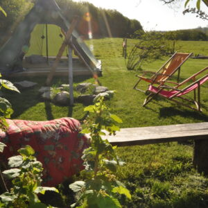 Overnatning i naturen i Danmark