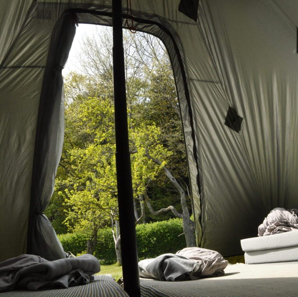 telt på langeland