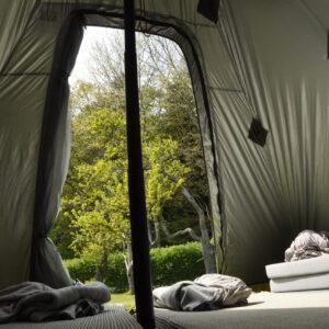 overnatning i telt i naturen